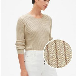 Gap metallic sweater